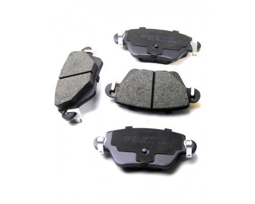 Тормозные колодки задние (полный привод) Renault Kangoo 97-08 37254 ABS (Нидерланды)
