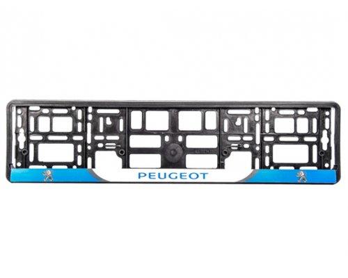 "Рамка номерного знака ""Peugeot"" 000171 WINSO (Польша)"