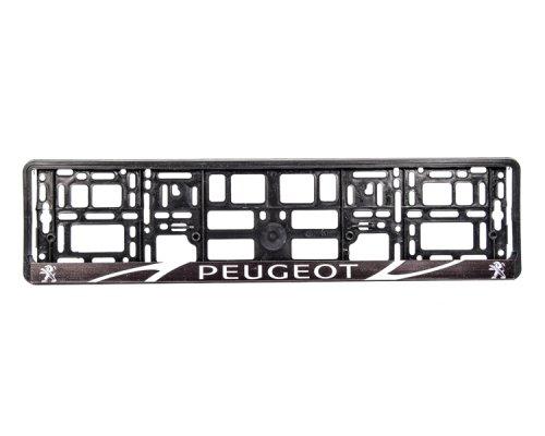 "Рамка номерного знака ""Peugeot"" 000172 WINSO (Польша)"