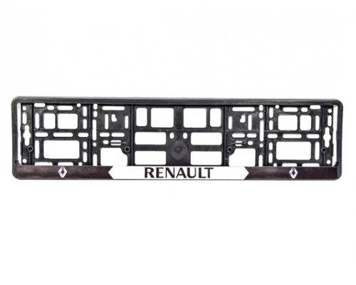 "Рамка номерного знака ""Renault"" 000181 WINSO (Польша)"