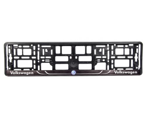 """Рамка номерного знака """"Volkswagen"""" 000202 WINSO (Польша)"""