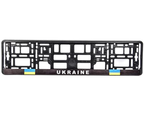 """Рамка номерного знака """"UKRAINE"""" 000311 WINSO (Польша)"""