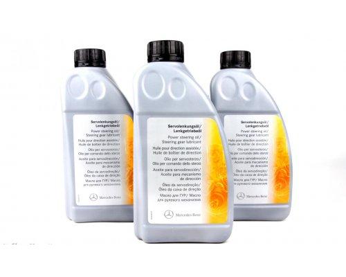 Жидкость ГУР желтая синтетическая (1л) MB Vito 638 1996-2003 000989880310 MERCEDES (Оригинал, Германия)