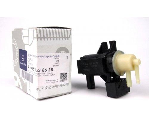 Клапан управления турбиной (двигатель OM646) MB Sprinter 906 2.2CDI 2006- 0061536628 MERCEDES (Оригинал, Германия)