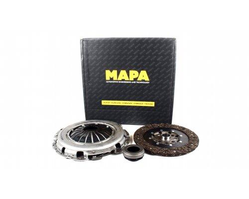 Комплект сцепления (корзина, диск, выжимной, D=230mm) MB Vito 2.3TD 1996-2003 007228000 MAPA (Турция)