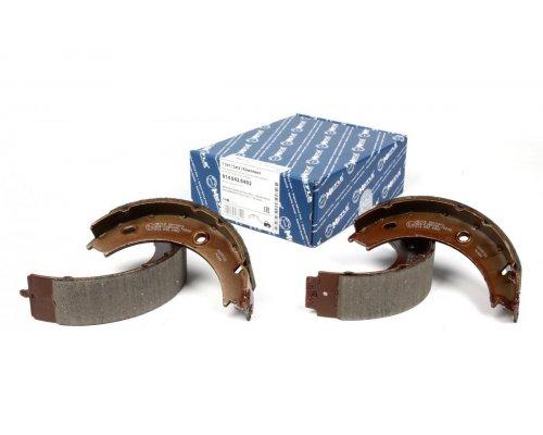 Колодки ручника (со сдвоенным колесом, без пружинок) MB Sprinter 408-416 1995-2006 0140420402 MEYLE (Германия)