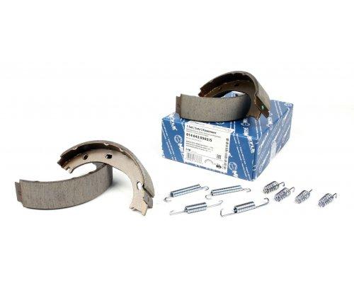 Колодки ручника (с пружинками) VW LT 28-35 1996-2006 0140420502/S MEYLE (Германия)