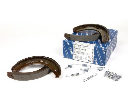 Колодки ручника (180x20, с пружинками) MB Vito 638 1996-2003 0140420602/S MEYLE (Германия)