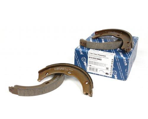 Колодки ручника (186x20) MB Vito 639 2003- 0145330002 MEYLE (Германия)