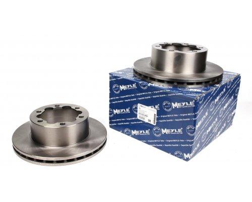Тормозной диск задний (303х28мм, со сдвоенным колесом) MB Sprinter 408-519 2006- 0155232099 MEYLE (Германия)