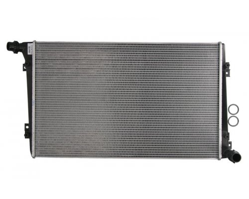 Радиатор охлаждения (двигатель BLS/BSU; 648x408x32мм) VW Caddy III 1.9TDI 2004-2010 53813 NRF (Нидерланды)