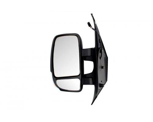 Зеркало левое электрическое (с подогревом, 7 контактов, сферичное) Renault Master III / Opel Movano B 2010- 02-600 ZILBERMANN (Германия)