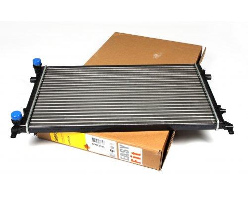 Радиатор охлаждения (650x397x23мм) VW Caddy III 1.4 / 1.6 / 2.0 / 2.0SDI 2004-2015 53404 NRF (Нидерланды)