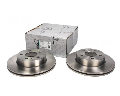Тормозной диск передний вентилируемый (276х22мм) MB Vito 638 1996-2003 02.35.074 TRUCKTEC (Германия)