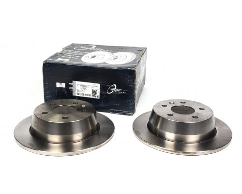 Тормозной диск задний (280х10мм) MB Vito 638 1996-2003 02.35.075 TRUCKTEC (Германия)