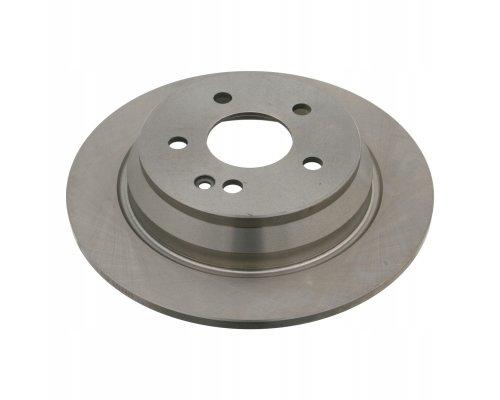 Тормозной диск задний (296х10мм) MB Vito 639 2003- 02.35.133 TRUCKTEC (Германия)