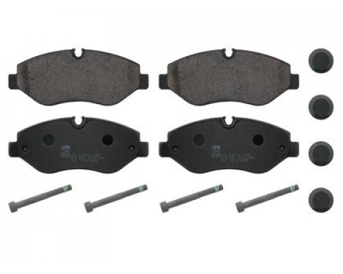 Тормозные колодки передние без датчика VW Crafter 2006- 02.35.196 TRUCKTEC (Германия)