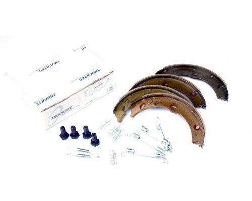 Колодки ручника (186x20, с пружинками) MB Vito 639 2003- 02.35.243 TRUCKTEC (Германия)