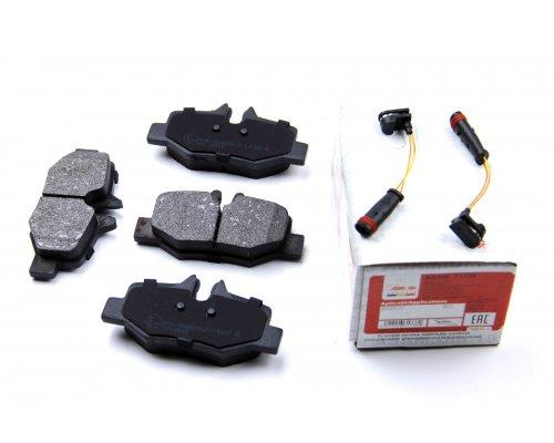 Тормозные колодки задние (с датчиком) MB Vito 639 2003- 71738 ASAM (Румыния)