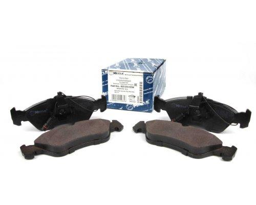 Тормозные колодки задние (156x55x18мм) MB Sprinter 208-316 1995-2006 0252159218 MEYLE (Германия)