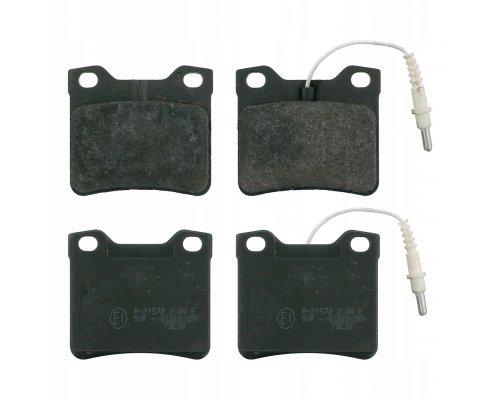 Тормозные колодки задние c датчиком (система ATE) MB Vito 638 1996-2003 0252190417/W MEYLE (Германия)