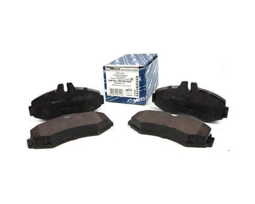 Тормозные колодки передние без датчика (система BOSCH) MB Vito 638 1996-2003 0252302220 MEYLE (Германия)