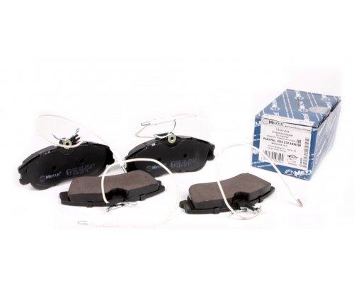 Тормозные колодки передние (до 2002 г.в.) Peugeot Partner / Citroen Berlingo 1996-2002 0252312419/W MEYLE (Германия)