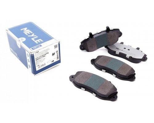 """Тормозные колодки передние (колесный диск 15"""", усиленные) Renault Master II / Opel Movano 1998-2010 0252330218/PD MEYLE (Германия)"""
