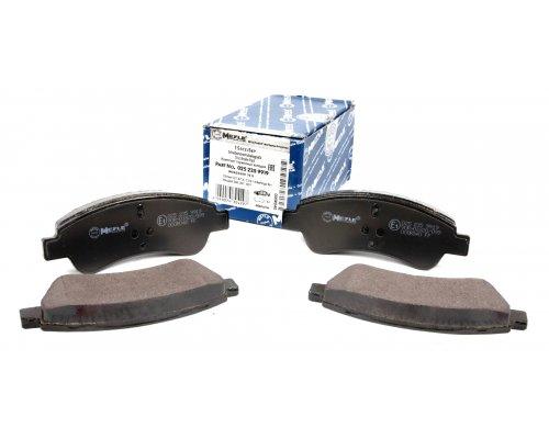Тормозные колодки передние (с 2002 г.в.) Peugeot Partner / Citroen Berlingo 2002-2011 0252359919 MEYLE (Германия)