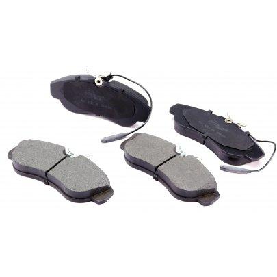 Тормозные колодки передние (с датчиком, R16) Fiat Ducato / Citroen Jumper / Peugeot Boxer 1994-2002 0252360319/W MEYLE (Германия)