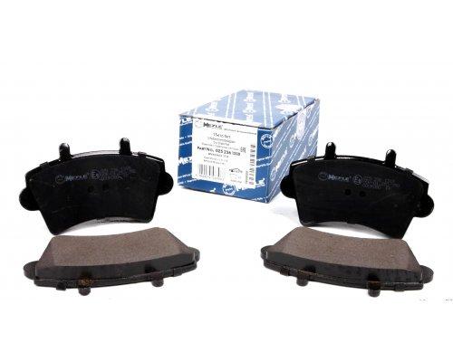 """Тормозные колодки передние (колесный диск 16"""") Renault Master II / Opel Movano 1998-2010 0252361318 MEYLE (Германия)"""