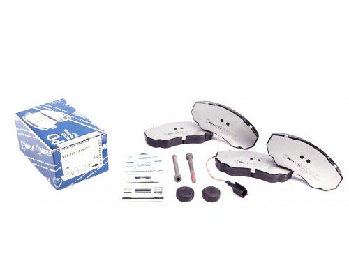 Тормозные колодки передние (с датчиком, R15) Fiat Ducato / Citroen Jumper / Peugeot Boxer 1994-2006 0252391719/PD MEYLE (Германия)