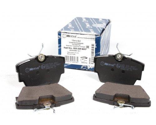 Тормозные колодки задние Renault Trafic II / Opel Vivaro A 2001-2014 0252398017 MEYLE (Германия)