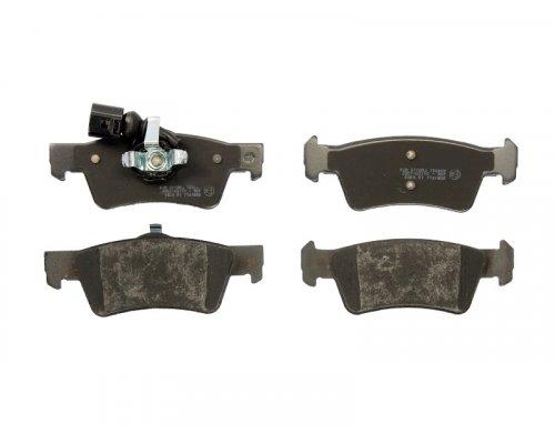 Тормозные колодки задние (ATE, с датчиком) VW Transporter T5 03- 0252436719/W MEYLE (Германия)