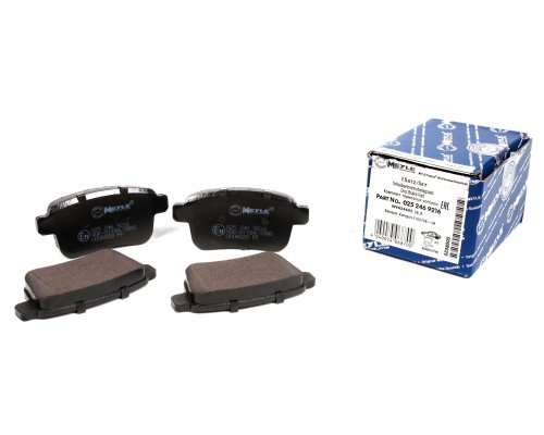Тормозные колодки задние Renault Kangoo II / MB Citan 2008- 0252469216 MEYLE (Германия)