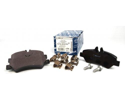 Тормозные колодки задние без датчика MB Sprinter 906 2006- 0252919019 MEYLE (Германия)
