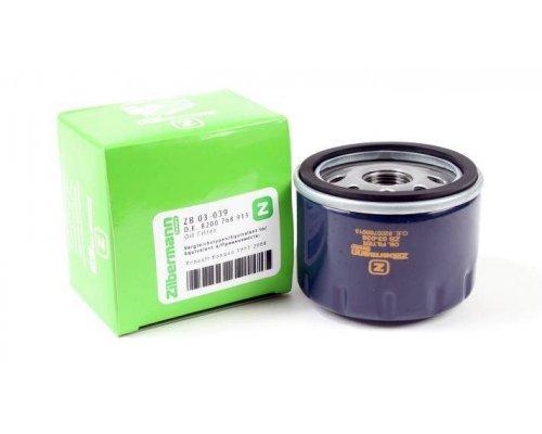 Масляный фильтр Renault Kangoo 1.4 / 1.6 / 1.5dCi / 1.9D 97-08 03-039 ZILBERMANN (Германия)