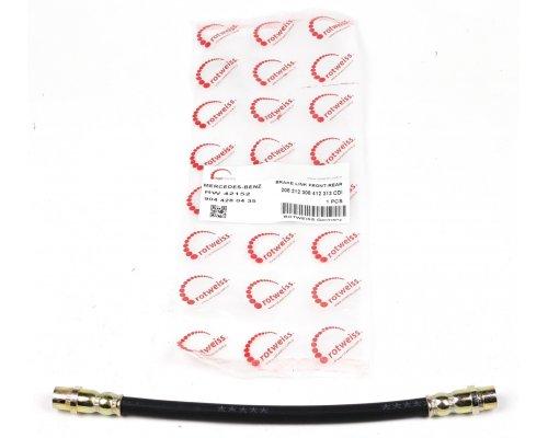 Тормозной шланг (задний, со сдвоенным колесом) MB Sprinter 901-905 1995-2006 RW42152 ROTWEISS (Турция)