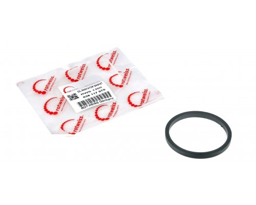 Прокладка радиатора масляного / теплообменника VW LT 2.5 TDI / SDI 96-06 038117070 ROTWEISS (Турция)