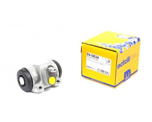 Тормозной цилиндр задний (не для повышенной нагрузки) Fiat Ducato / Citroen Jumper / Peugeot Boxer 1994-2006 04-0634 METELLI (Италия)