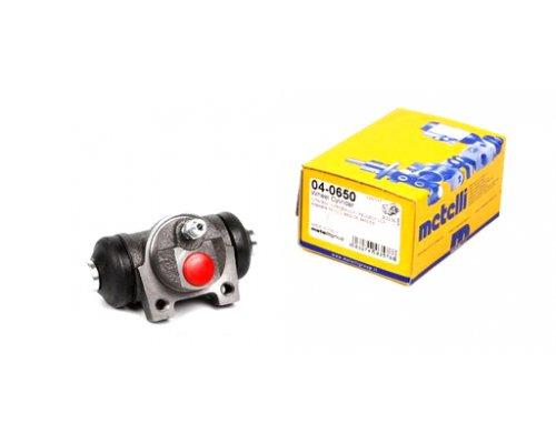 Цилиндр тормозной рабочий задний Peugeot Partner / Citroen Berlingo 1996-2011  04-0650 METELLI (Италия)