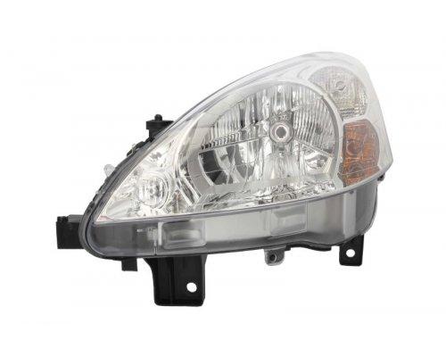 Фара передняя левая (тип ламп: H4) Peugeot Partner II 2008- 043774 VALEO (Франция)
