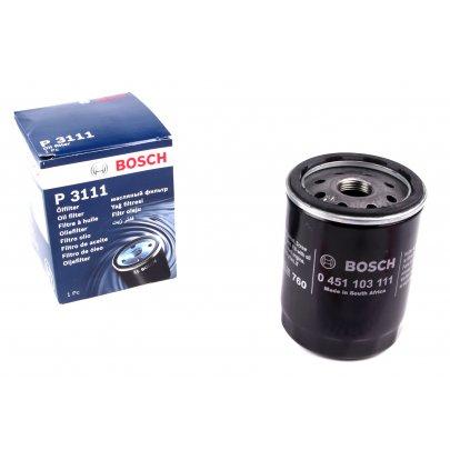 Фильтр масляный Peugeot Partner / Citroen Berlingo 1.8D / 1.9D / 2.0HDi 1996-2008 0451103111 BOSCH (Германия)