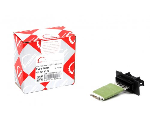 Реостат / резистор печки (4 контакта, начиная с № кузова: R365851) MB Sprinter 901-905 1995-2006 RW82080 ROTWEISS (Турция)
