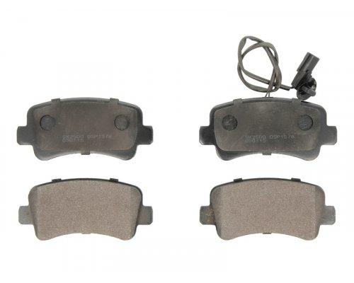 Тормозные колодки задние (без сдвоенного колеса, с датчиком) Renault Master III / Opel Movano B 2010- 05P1578 LPR (Италия)
