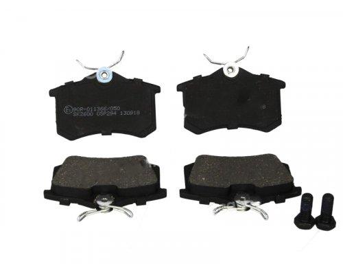 Тормозные колодки задние (LUCAS) Fiat Scudo / Citroen Jumpy / Peugeot Expert 1995-2006 05P294 LPR (Италия)
