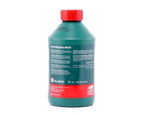 Жидкость ГУР зелёная синтетическая (1л) VW Crafter 2.5TDI 2006- 06161 FEBI (Германия)