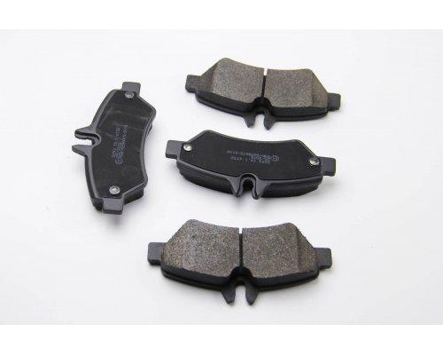 Тормозные колодки задние без датчика VW Crafter 2006- 08-007 ZILBERMANN (Германия)