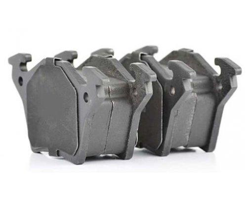 Тормозные колодки задние без датчика (система BOSCH) MB Vito 638 1996-2003 08-026 ZILBERMANN (Германия)