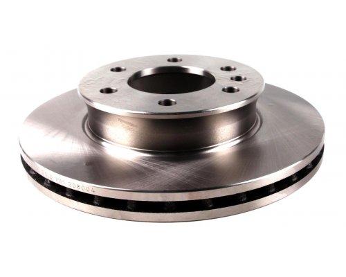 Тормозной диск передний (299.6х28мм) MB Sprinter 906 2006- 08-204 ZILBERMANN (Германия)